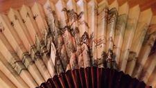 Vintage Large Oriental fan wall decor