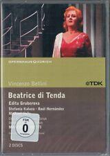 2.DVD BELLINI: BEATRICE DI TENDA Edita Gruberova Michael Volle Hernandez VIOTTI