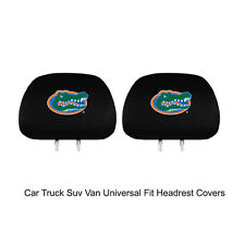 New Team ProMark NCAA Florida Gators Head Rest Covers For Car Truck Suv Van