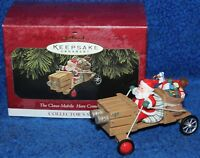 Hallmark Keepsake Ornament The Claus-Mobile Here Comes Santa Collector's Series