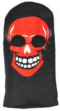 Skii Snowboard Mask-Skull-red