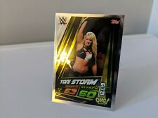 WWE NXT UK 2019 FOIL Toni Storm Topps Slam Attax UK European Exclusive Card