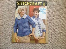 STITCHCRAFT Ladies Vintage Knitting Magazine March  1960
