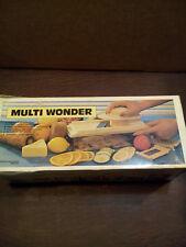 WONDER FOOD GRATER/SLICER MODEL# 32703