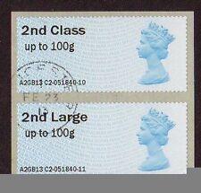 Echte Briefmarken aus Großbritannien für Post-und Kommunikations-Motiv