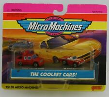 Micro Machines The coolest Cars Chevy Crewcab Dually and 63 t-bird convertible