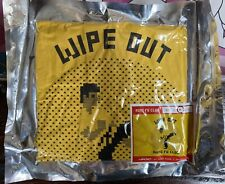 Invader - Wipe Out Kung-Fu Club - Yellow Medium - Screen Printed T Shirt