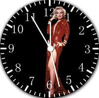 Marilyn Monroe Frameless Borderless Wall Clock Nice For Gifts or Decor F76