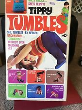 Tippy Tumbles Doll  1968 VINTAGE By REMCO w/ original box & Instructions.