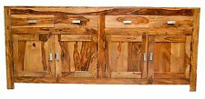 Country Timber Sideboard Cabinet Buffet Storage Cupboard Vintage Statement
