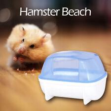 Plastic Transparent Hamster Bathroom Guinea Pig Sand Bath Basin Pet Supplies