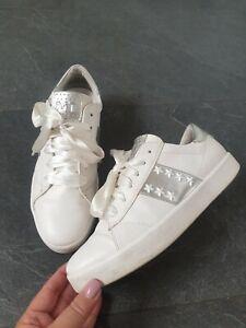 MARCO TOZZI Damen Sneaker Gr. 39 weiß silber TOP!!!