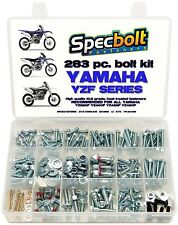 283pc Bolt Kit Yamaha YZF 250 400 426 450 YZ400F YZ426F YZ450F PLASTICS ENGINE