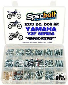 Bolt Kit Yamaha YZF 250 400 426 450 YZ400F YZ426F YZ450F PLASTICS ENGINE