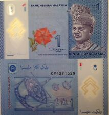 MALAYSIA 2012 1 RINGGIT RM UNCIRCULATED POLYMER NOTE BUY FROM A USA SELLER P-NEW