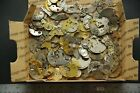 100+ Antique Pocket Watch Plates, Bridges, Gears (1074) for Parts or Repair