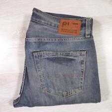Mens RALPH LAUREN Stonewashed Blue W30 L34 Designer Denim Jeans #E2222