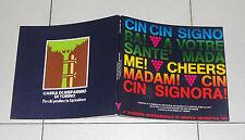 CIN CIN SIGNORA 4 Rassegna internazionale grafica umoristica 1981 Vino Wine