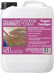 Fugenfestiger | Pflasterfugen | unkrautfreie Fugen | Sandfugen verfestigen - 5 L