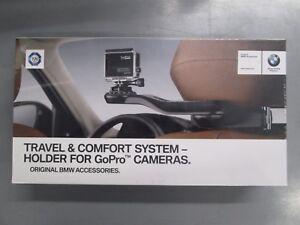 Brand New Genuine BMW GoPro Camera Headrest Holder Mount 51952405468