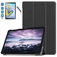 Smart Shell Cover Case for Samsung Galaxy Tab A2 10.5 SM-T590 & Glass Screen Pro