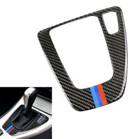 Gear Shift Control Panel Trim Carbon Fiber M Color Right Hand for BMW E90 05-12