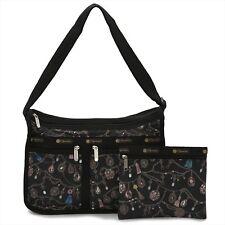 LeSportsac 7507 Deluxe Everyday Bag Tassle Dazzle NWT