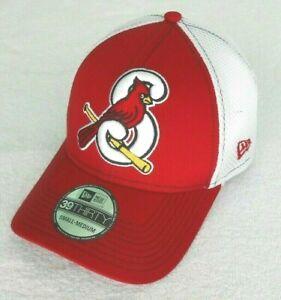 Springfield Cardinals Minor League Baseball Hat, 39Thirty Mega Team Neo Cap, S/M