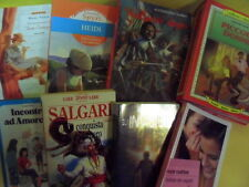 LOTTO 8 LIBRI RAGAZZI PICCOLE DONNE HEIDI TOM SAWYER INVISIBILI DOOM ROCK