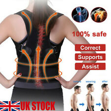 Unisex body wellness POSTURE corrector adjustable shoulder back support belt