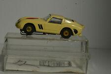 Vintage Aurora Ho Ferrari Gto 250 yellow # 1368 original Thunderjet 500 slot car