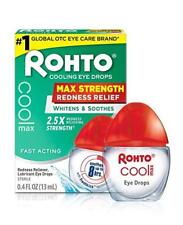 Rohto Cool Max Maximum Redness Relief Cooling Eye Drops