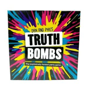 Dan And Phil's Truth Bombs A Party Game Fun Cards Game New Sealed