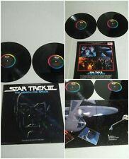 Star Trek III Search For Spock Record Album 33 LP 1984 SKBK-12360 James Horner