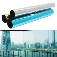 """20"""" x 40"""" Mirror One Way Home Window Film Solar UV Reflective Privacy Sticker"""