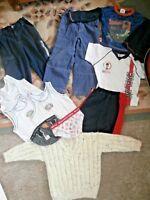 Boys BUNDLE~Age 4/5~TROUSERS, MAN UTD PANTS, ENGLAND FOOTBALL KIT, HANDKNIT ...