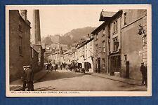 Kendal - All Hallow's Lane and Public Baths - printed postcard