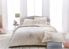 $595+tax Anne De Solene Paris Reflets Queen Duvet Cover Flat Sheet Set Polka Dot