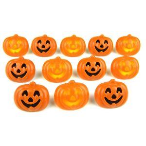Jack O Lantern Pumpkin Cupcake Rings Toppers- 12 Party Favors- Decopac Halloween