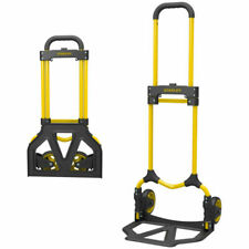 Stanley SXWTD-FT580 70kg Folding Hand Trolley - Yellow