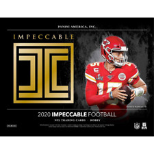 Jerry Rice 2020 IMPECCABLE FOOTBALL 9 BOX 3 FULL CASE PLAYER BREAK