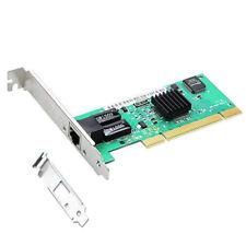 PCI Network Lan Card 10/100/1000Mbps Gigabit Ethernet Adapter With Low Bracket