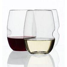Govino Shatterproof Stemless White Wine (Tritan) Glass Set of 4 - 12oz