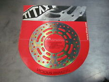 Titax Front Rotor Disc Honda CR80R 86 87 88 89 90 91 92 93 94 95 MX Brake
