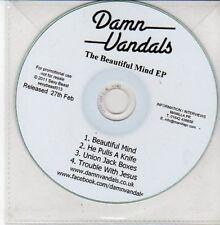 (DD688) Damn Vandals, The Beautiful Mind EP - 2011 DJ CD