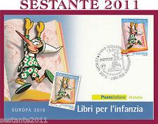 ITALIA MAXIMUM MAXI CARD 2010 EUROPA LIBRI PER L'INFANZIA PINOCCHIO A217