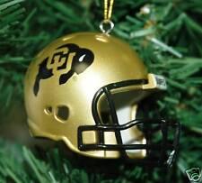 Colorado Buffalos Football Helmet Christmas Ornament