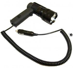 Clulite PL400 Pistol Light LED Torch Lamping Kit 400 Metre - Light & 12v Cable