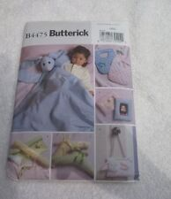Butterick Pattern B4475 Blanket Buddy Nursery Items