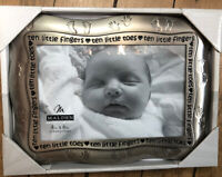 "Malden Baby Infant ""Ten Little Fingers..."" Photo Picture Frame Holds 4x6"